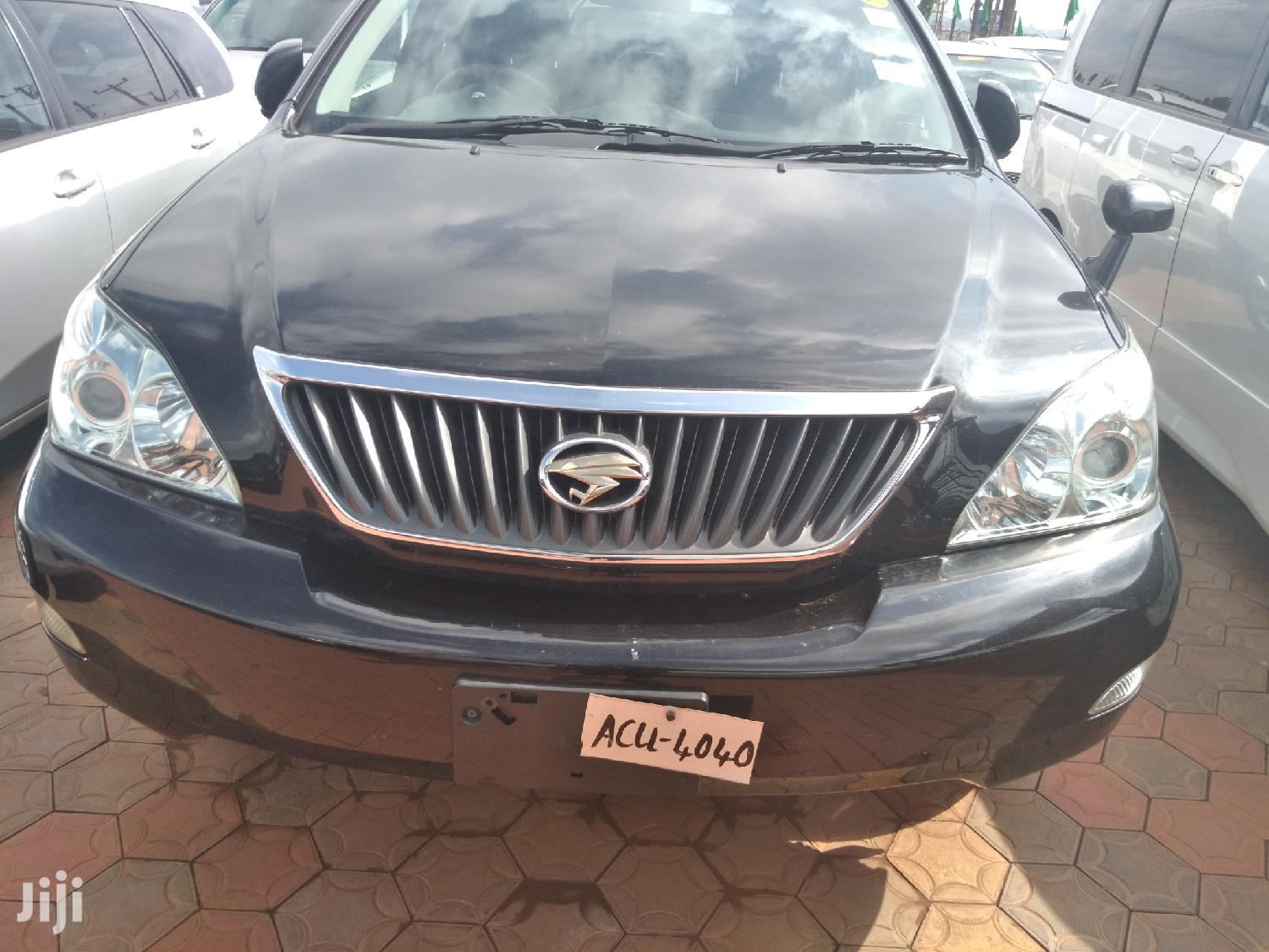 Archive: Toyota Harrier 2007 Gray
