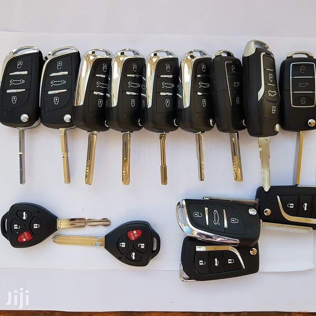 Car Keys And Key Cutting
