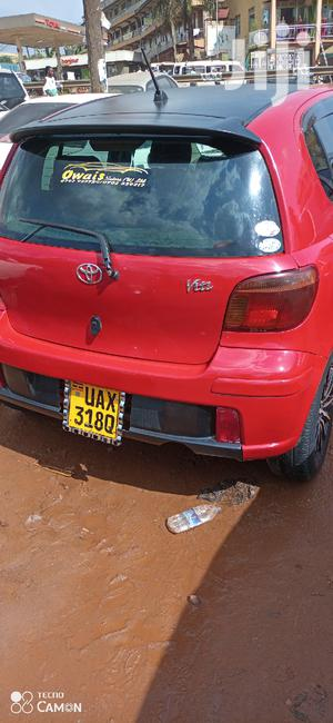 Toyota Vitz 2003 Red   Cars for sale in Central Region, Kampala