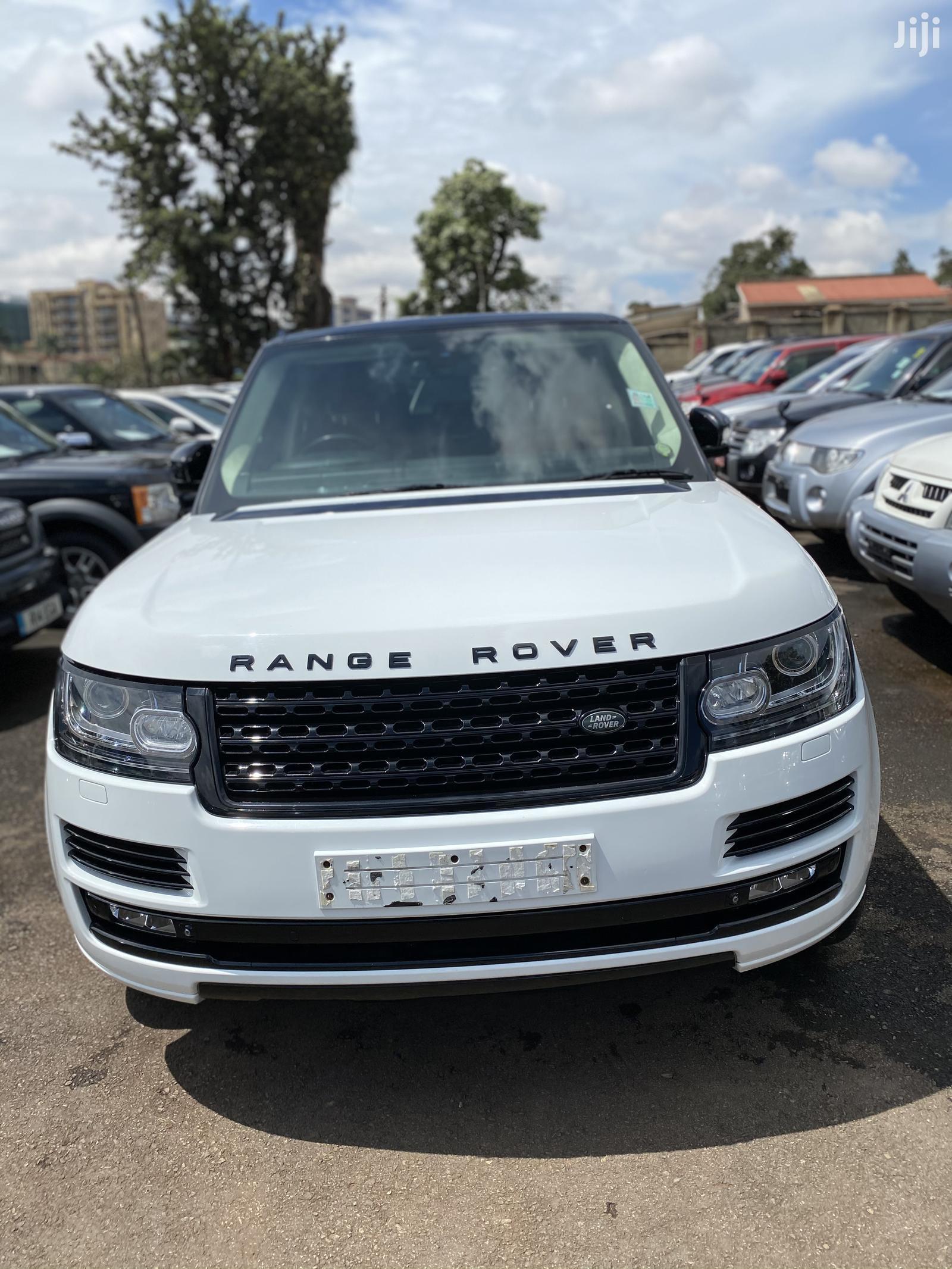 Land Rover Range Rover Vogue 2018 White
