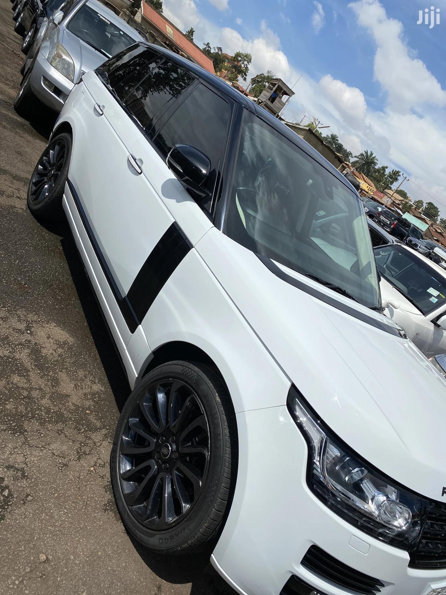 Land Rover Range Rover Vogue 2018 White   Cars for sale in Kampala, Central Region, Uganda