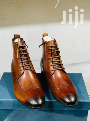 Leather Clean Boots | Shoes for sale in Central Region, Kampala