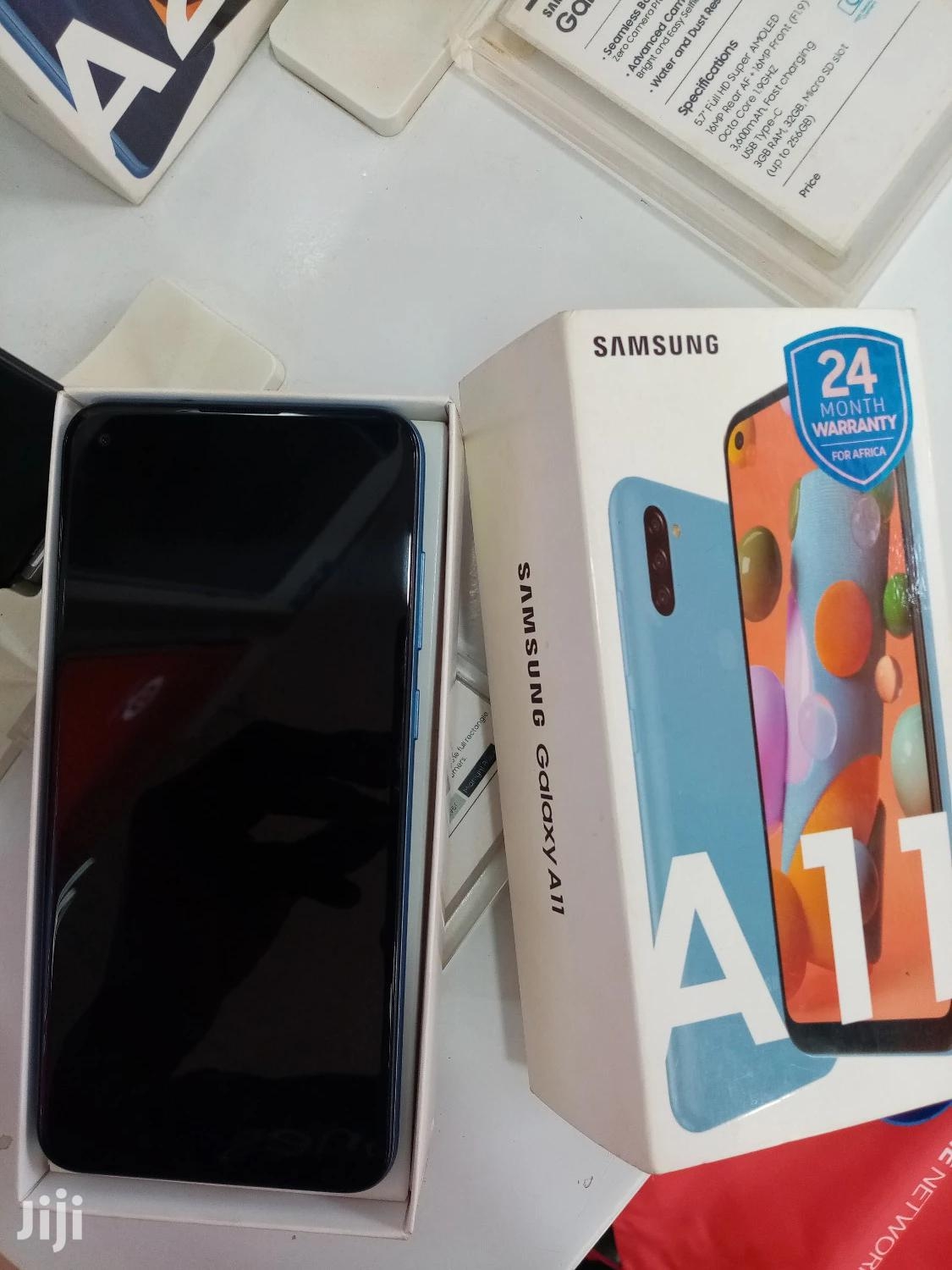 New Samsung Galaxy A11 32 GB Blue