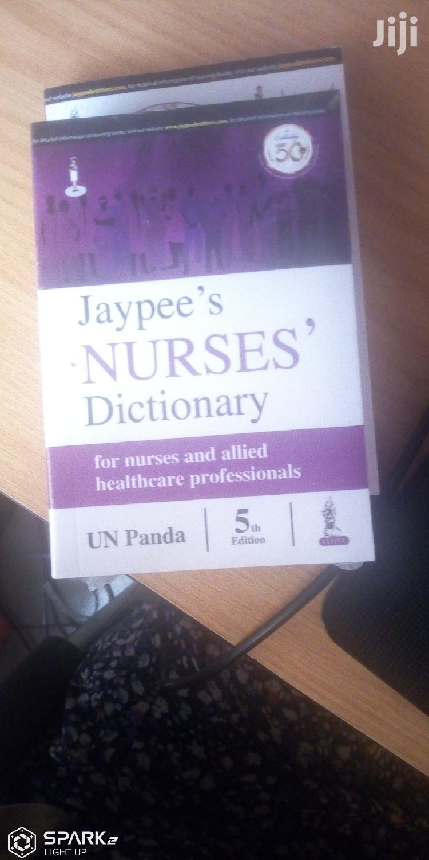 Jaypee's Nurses Dictionary