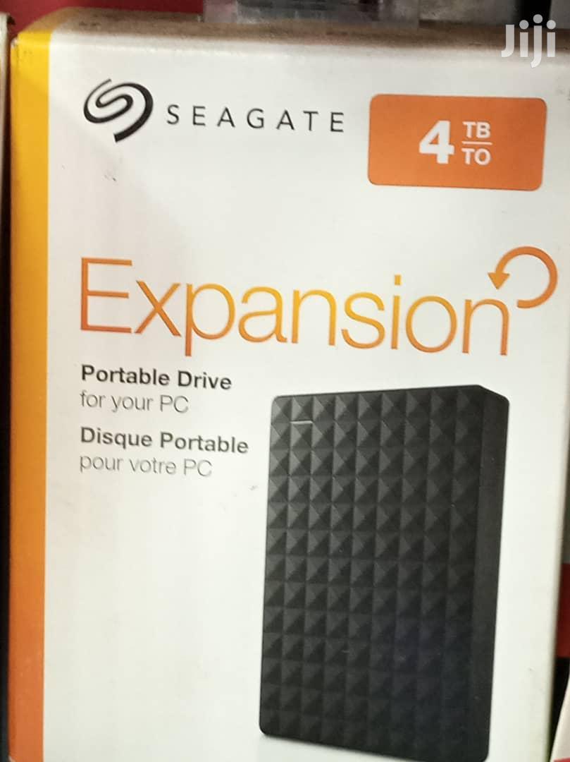 Archive: Seagate 4TB External Hard Drive