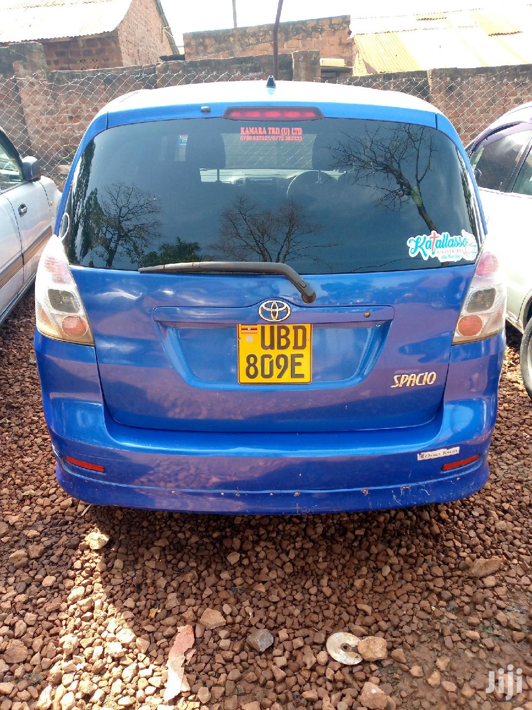 Toyota Spacio 2004 Blue