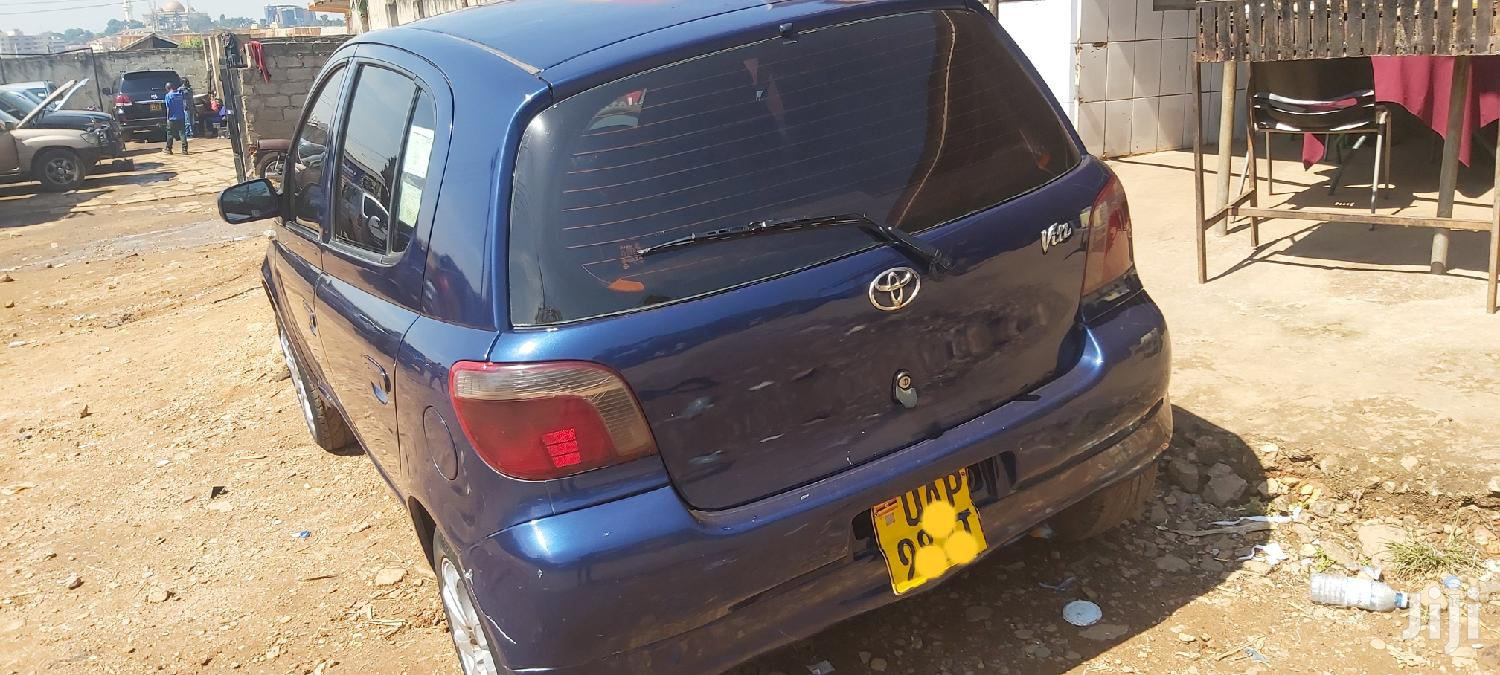 Toyota Vitz 1998 Blue | Cars for sale in Kampala, Central Region, Uganda