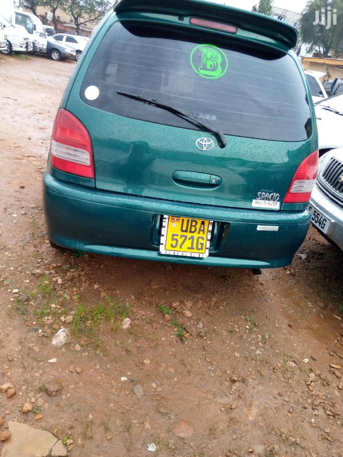 Toyota Spacio 2000 Green | Cars for sale in Kampala, Central Region, Uganda