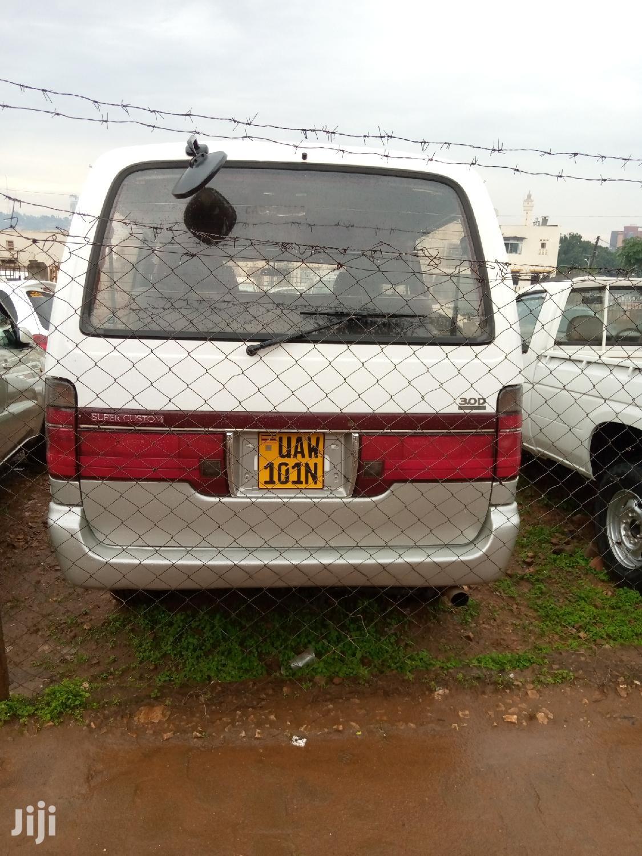 Archive: Toyota Regius Van 1998 White