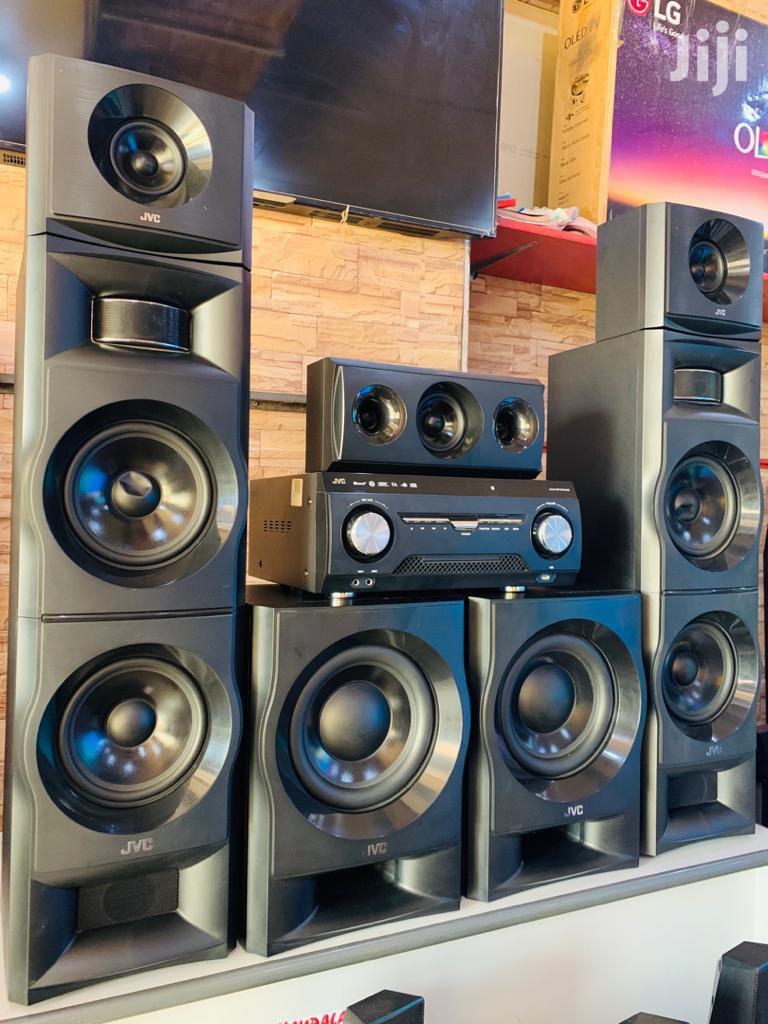 New JVC 5.2 Channels Mega Sound System
