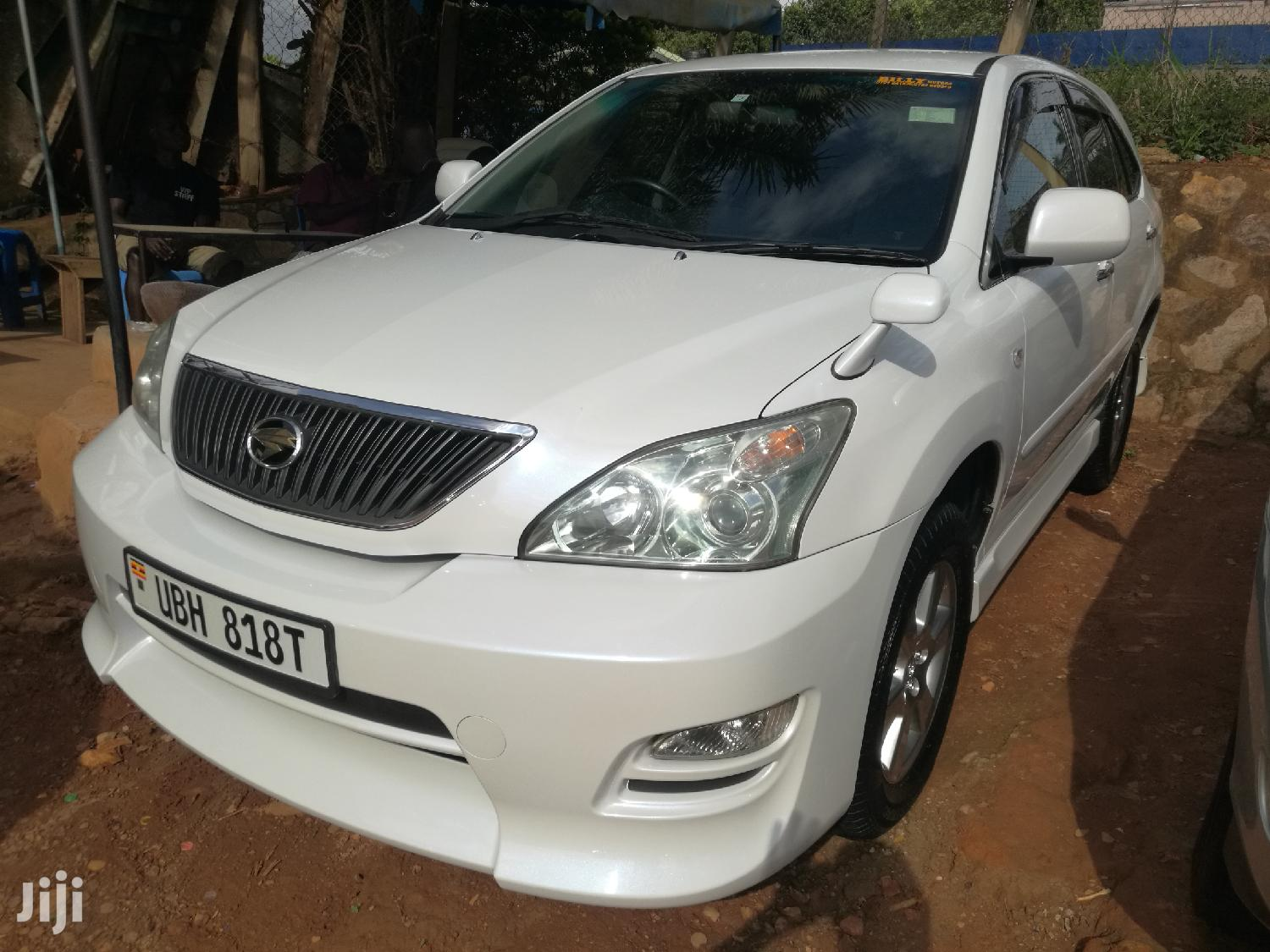 Archive: New Toyota Harrier 2008 White