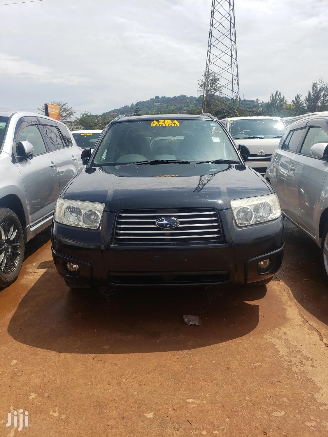 Subaru Forester 2007 Black