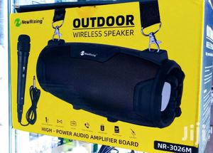 Outdoor Wireless Super Bass Speaker + Free Microphone | Audio & Music Equipment for sale in Central Region, Kampala