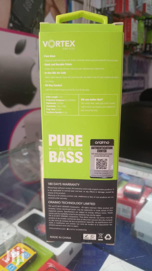 Oraimo Pure Bass Earphones | Headphones for sale in Kampala, Central Region, Uganda