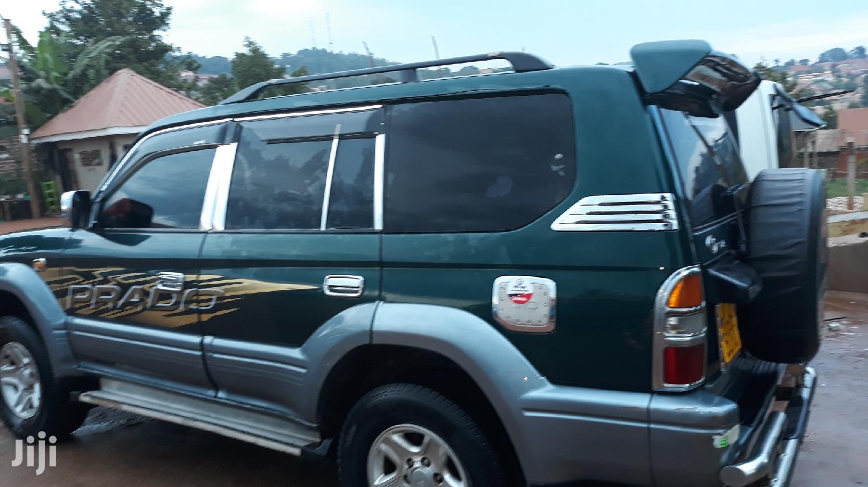 Archive: Toyota Land Cruiser Prado 1998 Green