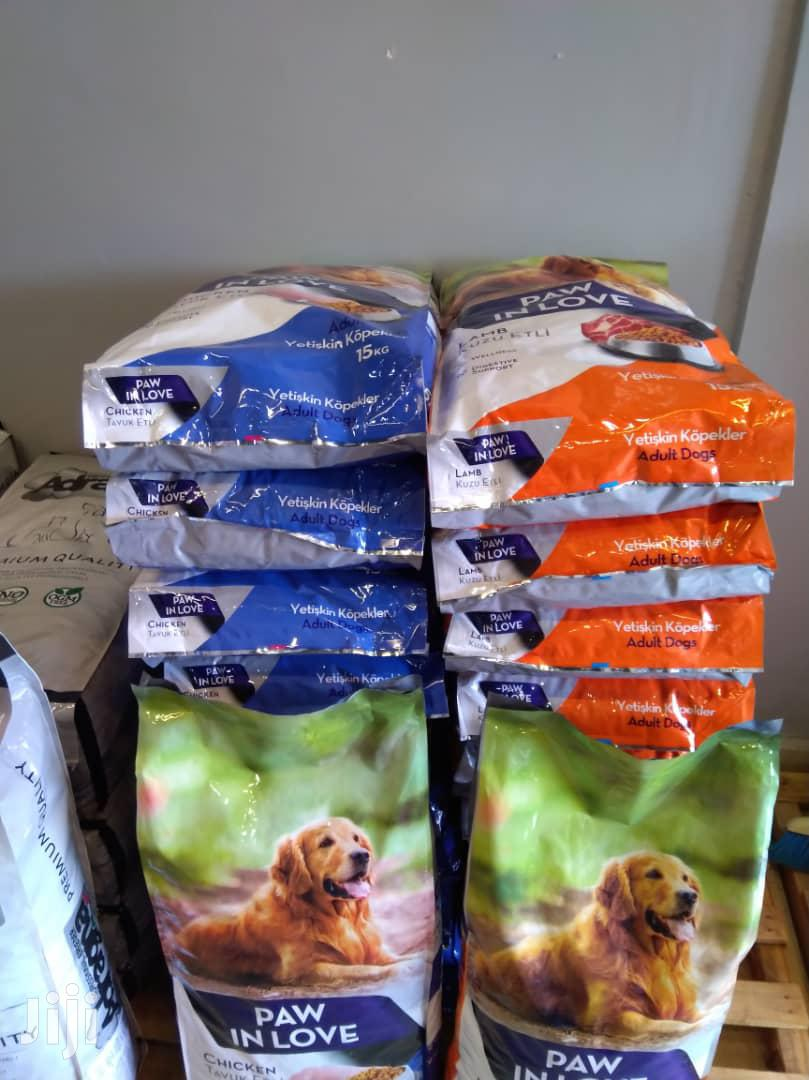 15 Kg Paw In Love Dog Foods