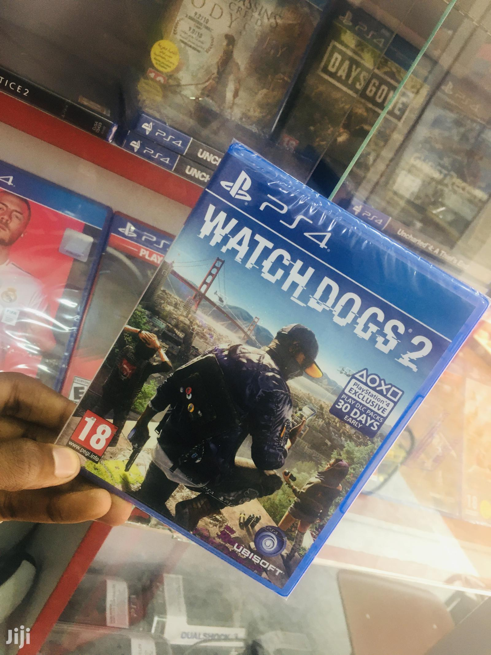 Watch Dogs Ps4 Game | Video Games for sale in Kampala, Central Region, Uganda