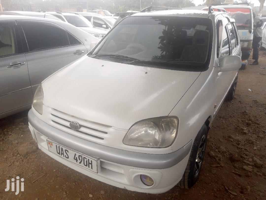 New Toyota Raum 1999 White