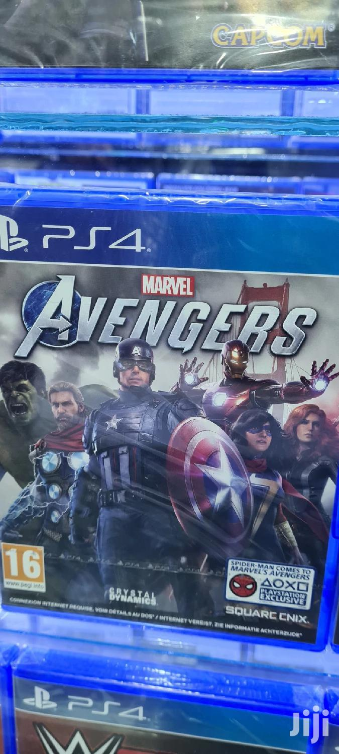 Avengers Ps4 Game