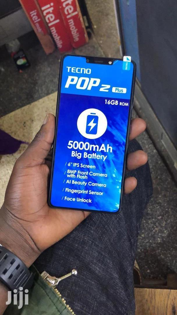 New Tecno Pop 2 Plus 16 GB Black | Mobile Phones for sale in Kampala, Central Region, Uganda