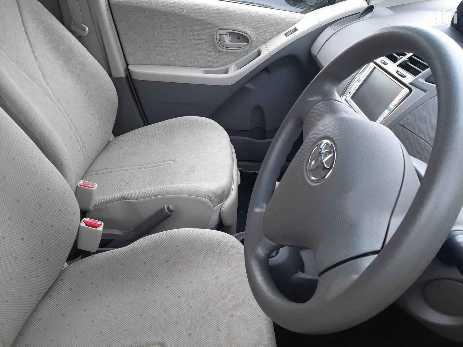 Archive: Toyota Vitz 2007 Silver