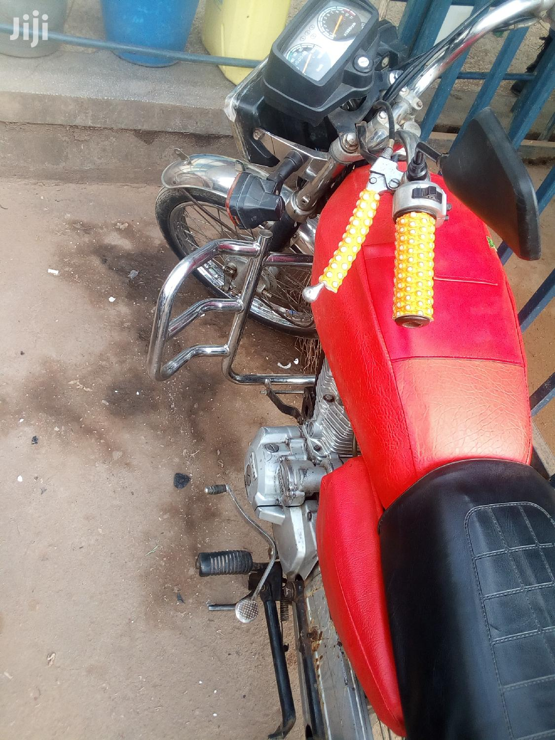 Motorcycle 2009 Red   Motorcycles & Scooters for sale in Arua, Nothern Region, Uganda