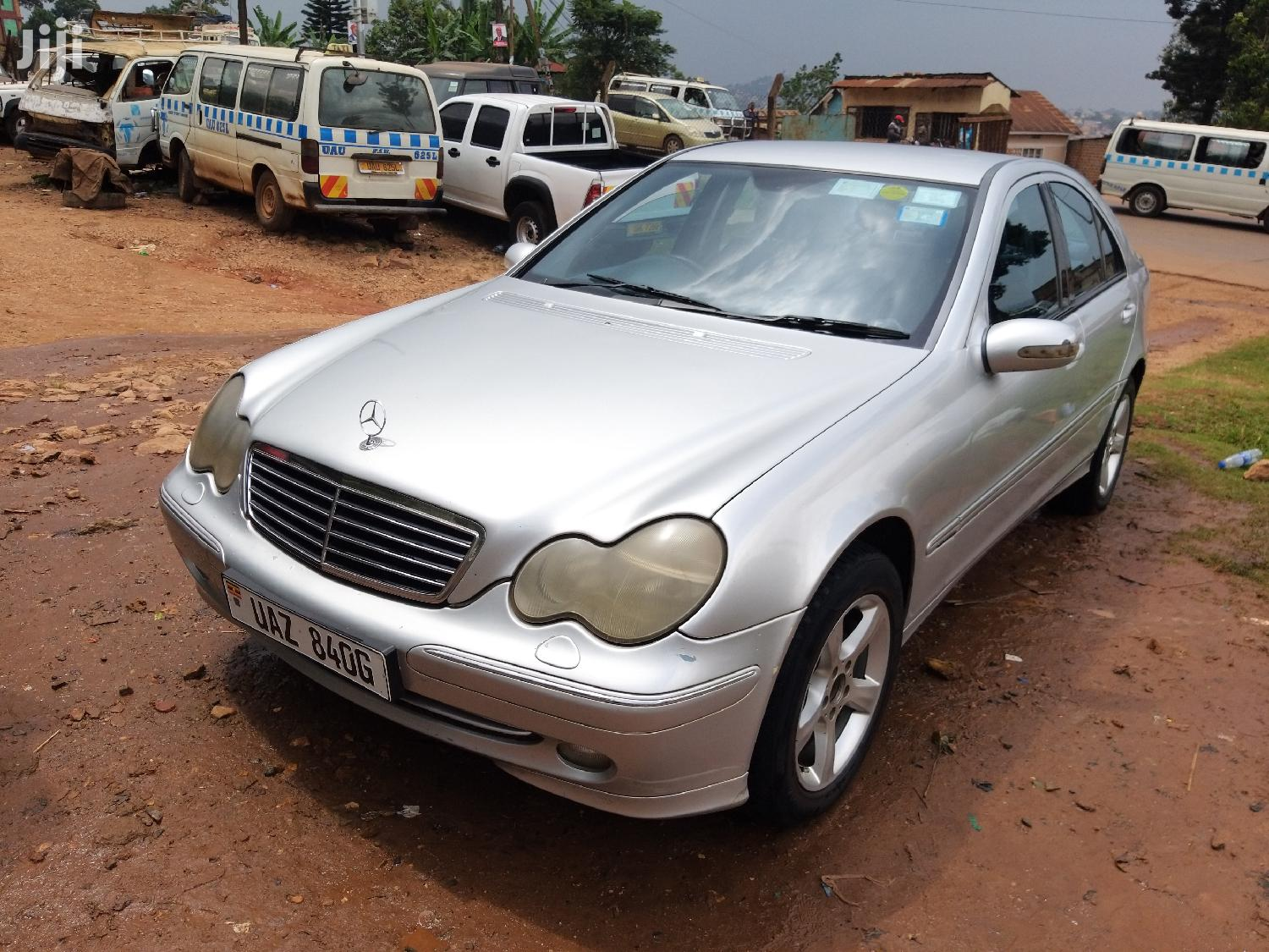 Mercedes-Benz C220 2001 Silver | Cars for sale in Kampala, Central Region, Uganda
