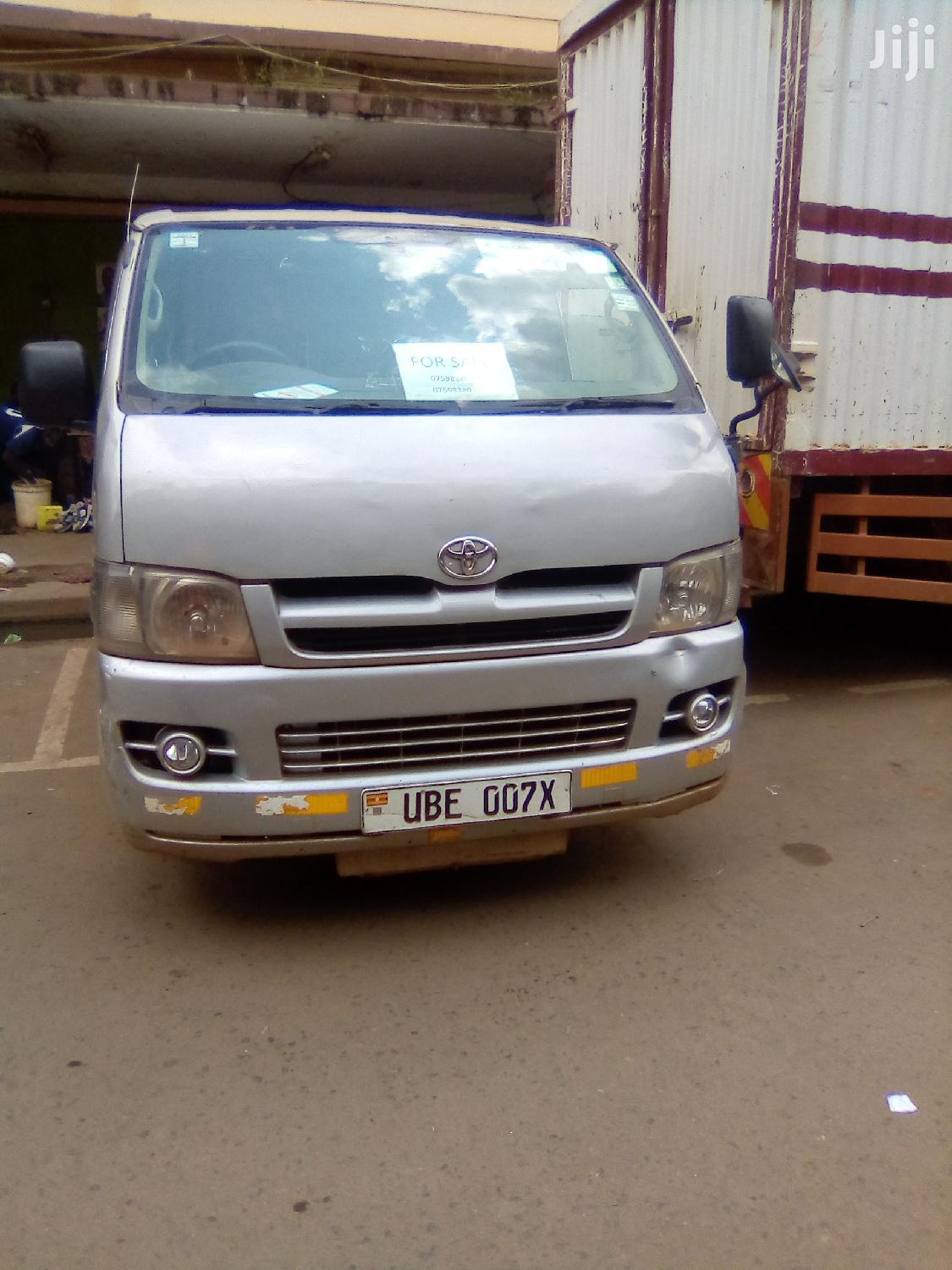 Toyota Hiace (Drone) 2004 Silver For Sale