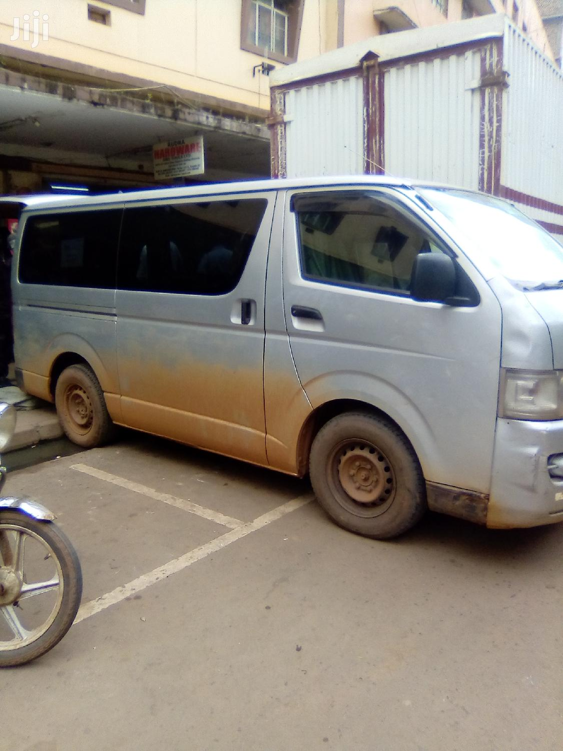 Toyota Hiace (Drone) 2004 Silver For Sale | Buses & Microbuses for sale in Kampala, Central Region, Uganda