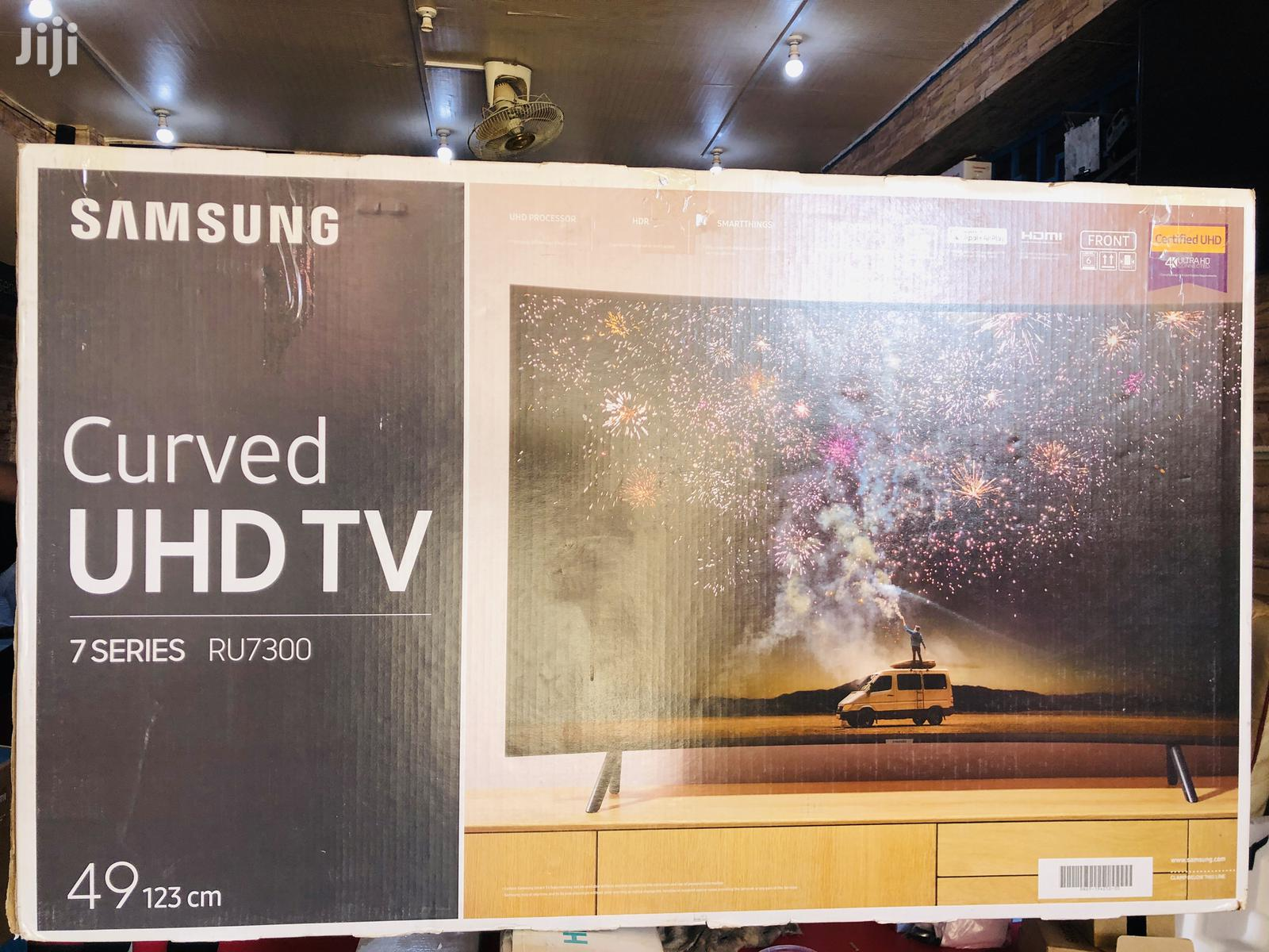 Curved 49 Inch Samsung Smart Tv UHD 4k