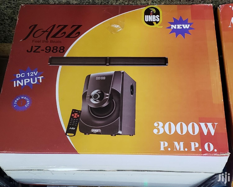 Jazz Bass Woofer, Bluetooth, FM Radio, Flash Disk Support