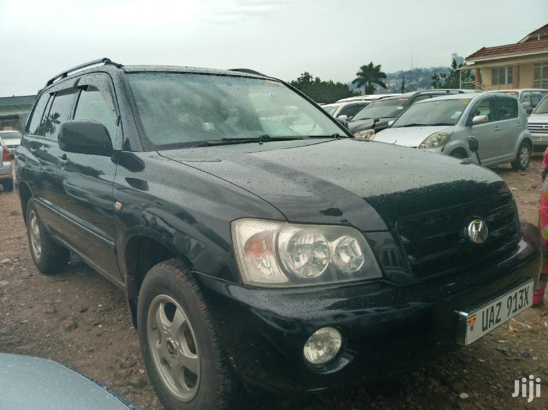 Archive: Toyota Kluger 2001 Black