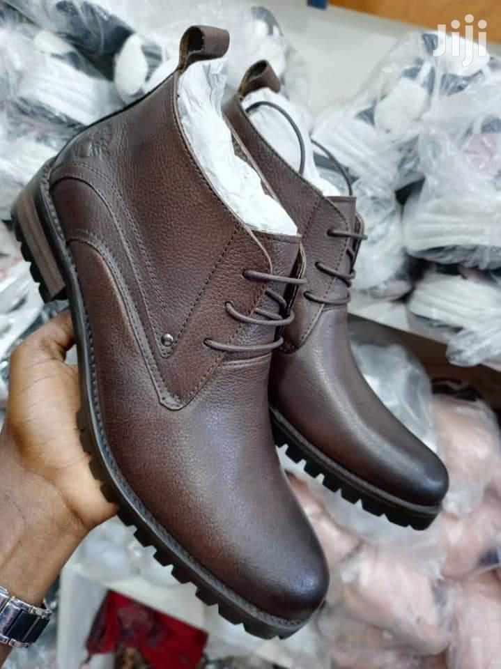 Pure Leather Boots | Shoes for sale in Kampala, Central Region, Uganda