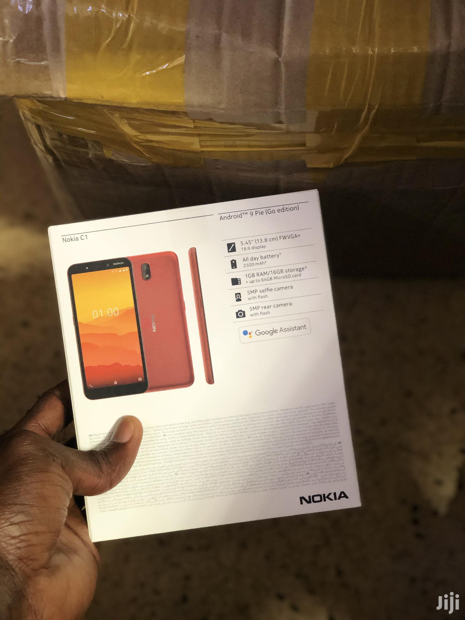 New Nokia C1 16 GB Black