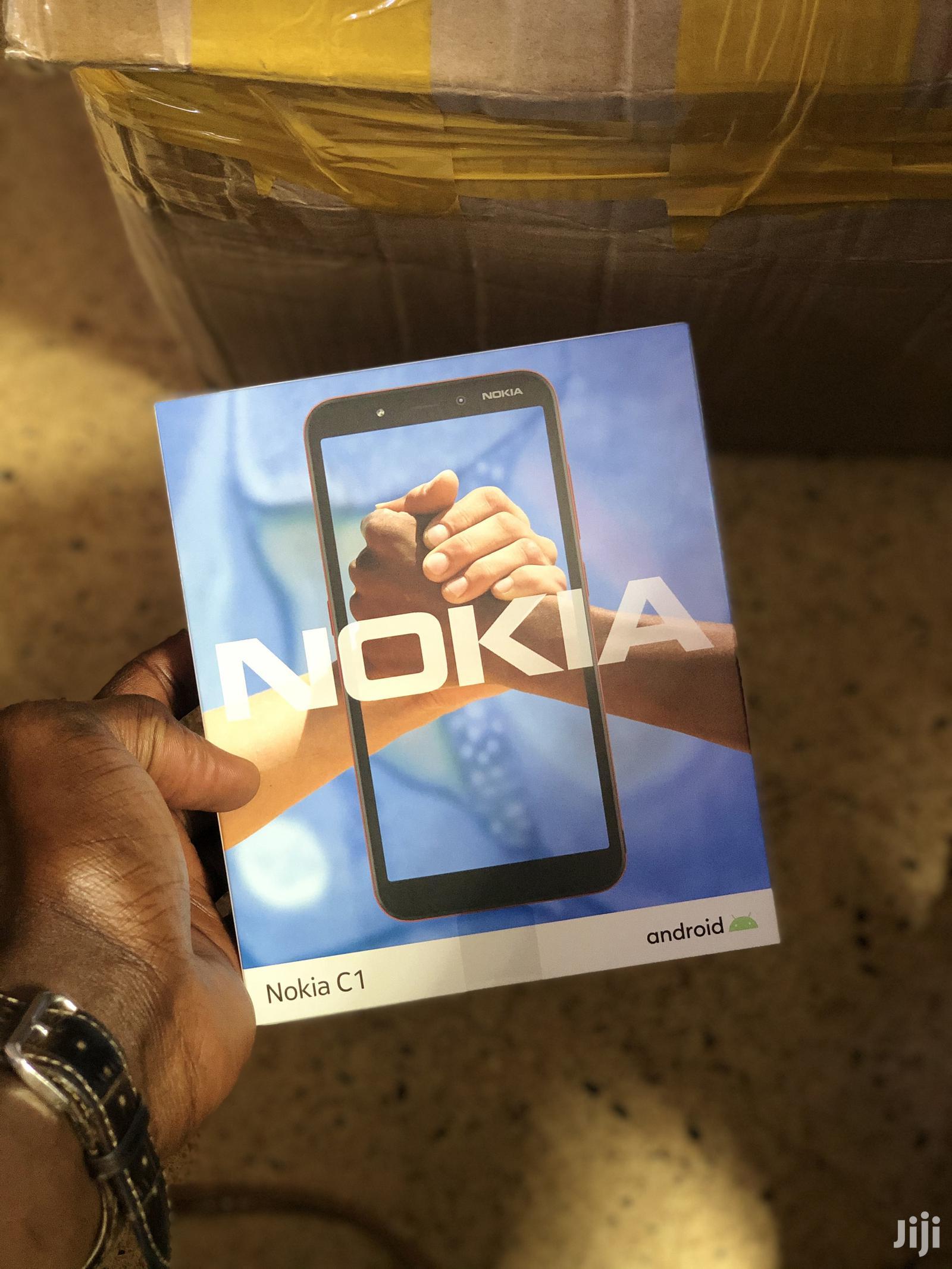 New Nokia C1 16 GB Black   Mobile Phones for sale in Kampala, Central Region, Uganda