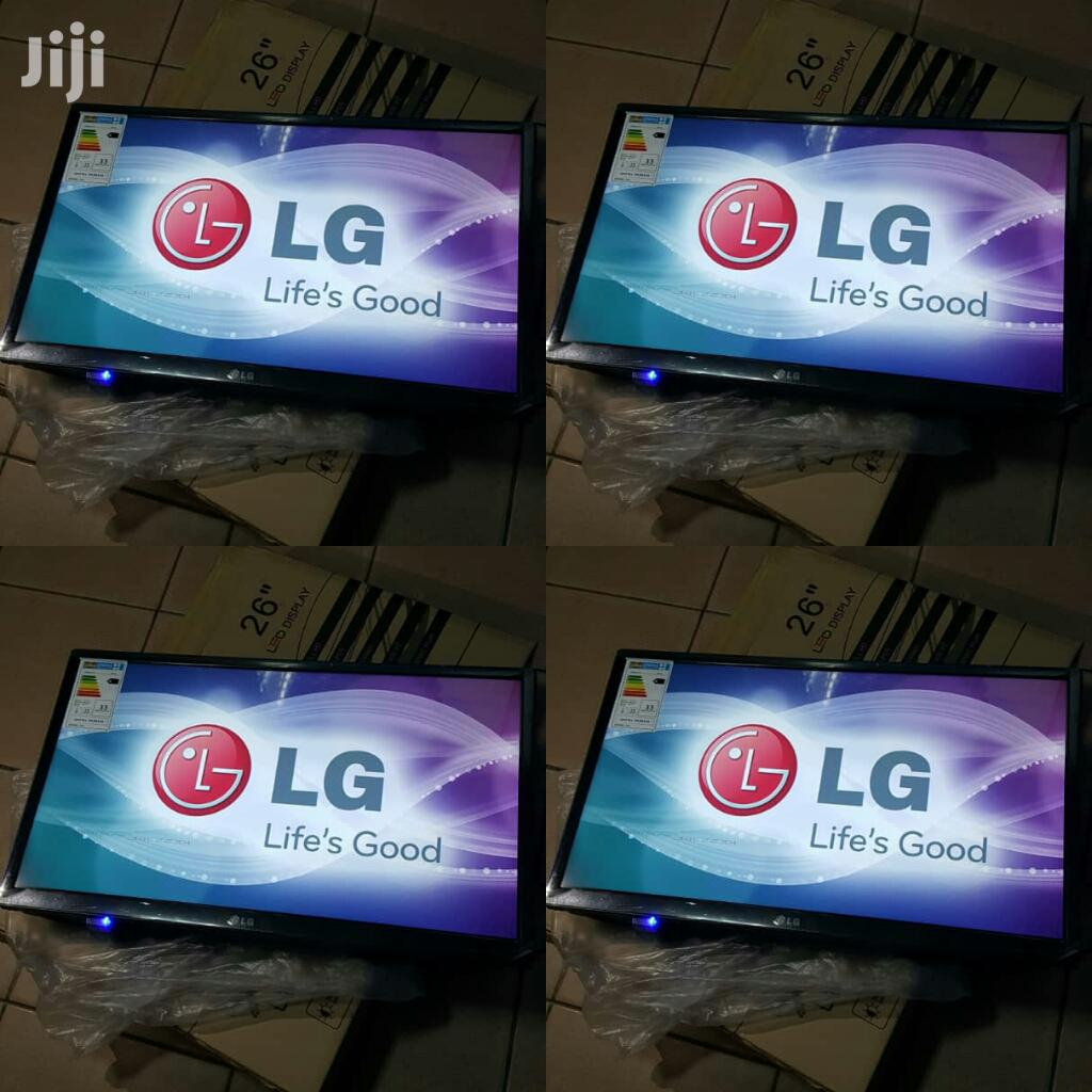 New LG Flat Screen TV 26 Inches | TV & DVD Equipment for sale in Kampala, Central Region, Uganda