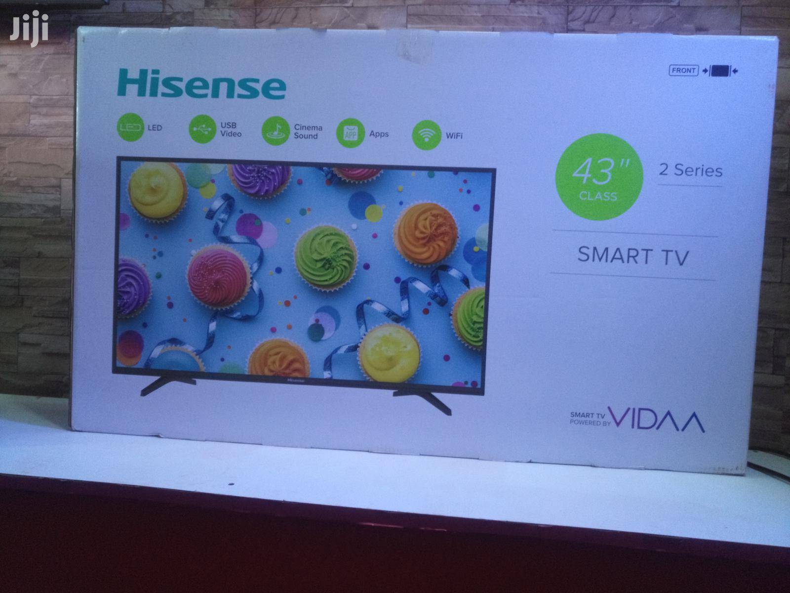 Hisense Smart Tv 43 Inches | TV & DVD Equipment for sale in Kampala, Central Region, Uganda