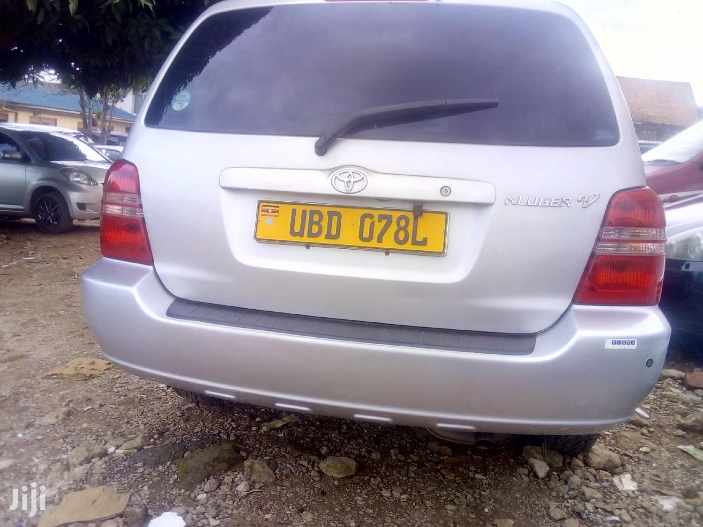 Toyota Kluger 2005 Silver   Cars for sale in Kampala, Central Region, Uganda