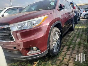 Toyota Highlander 2015 Red   Cars for sale in Central Region, Kampala