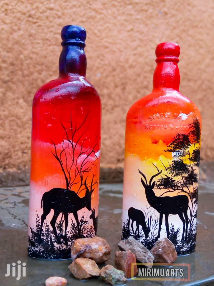 Art Designed Bottles