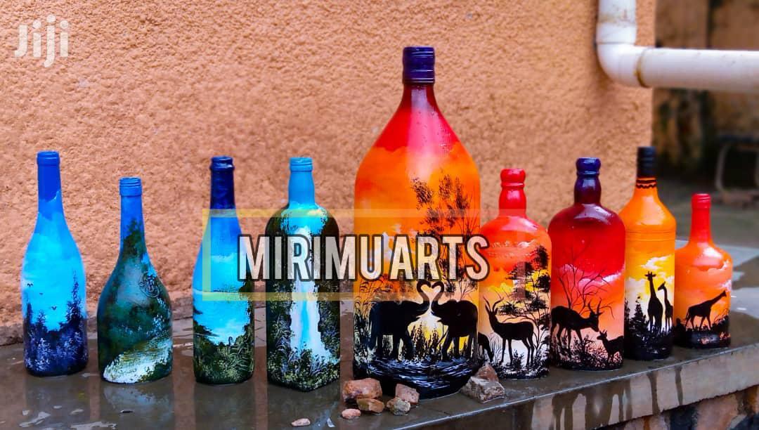 Art Designed Bottles | Arts & Crafts for sale in Kampala, Central Region, Uganda