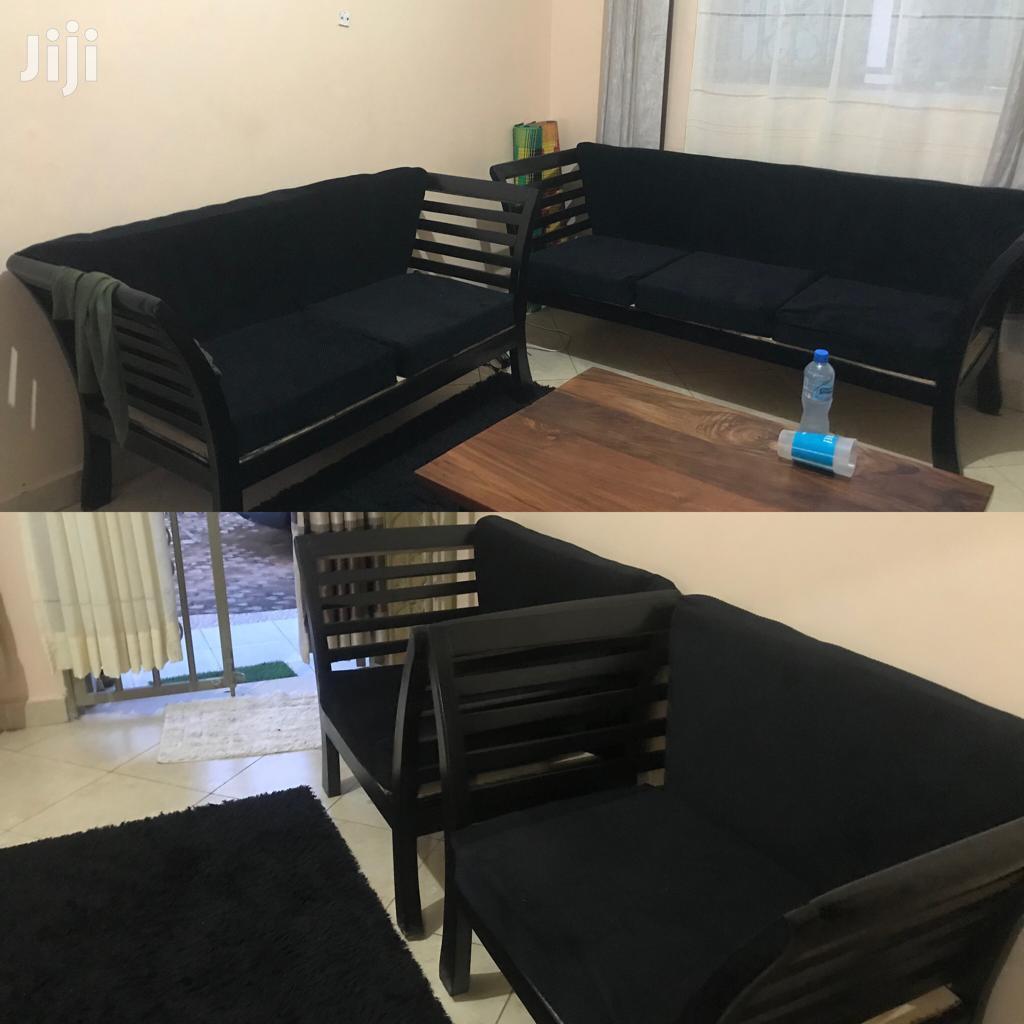 Hardwood Sofa Set | Furniture for sale in Kampala, Central Region, Uganda