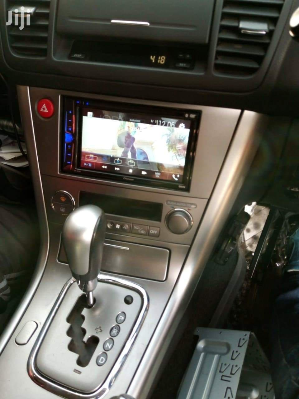Pioneer Radio Fitted In Subaru