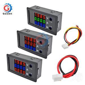 DC 0-100V 10A LCD Display Digital Voltmeter Ammeter Wattmete   Electrical Equipment for sale in Central Region, Kampala