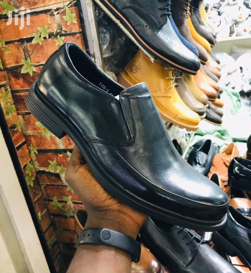 Clarks Black Leather Gentle Office Shoes | Shoes for sale in Kampala, Central Region, Uganda