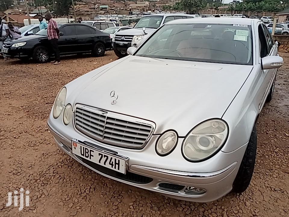 Archive: Mercedes-Benz E240 2006 Silver