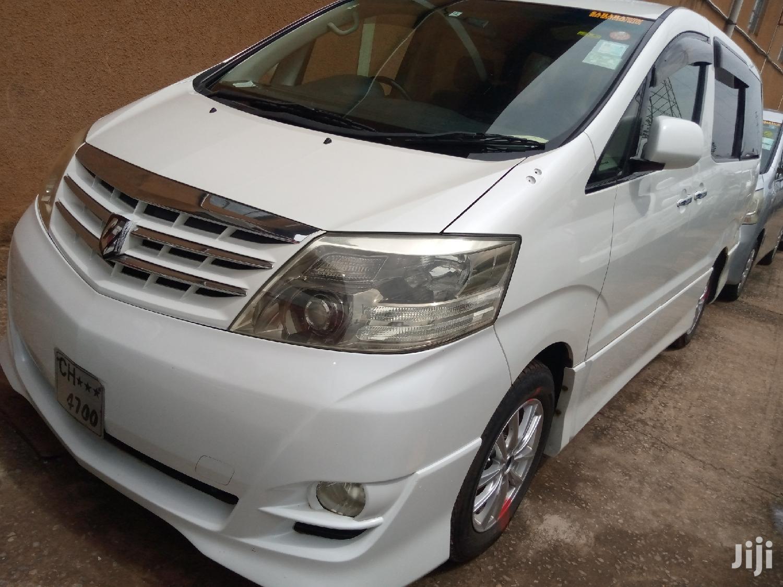 New Toyota Alphard 2007 White