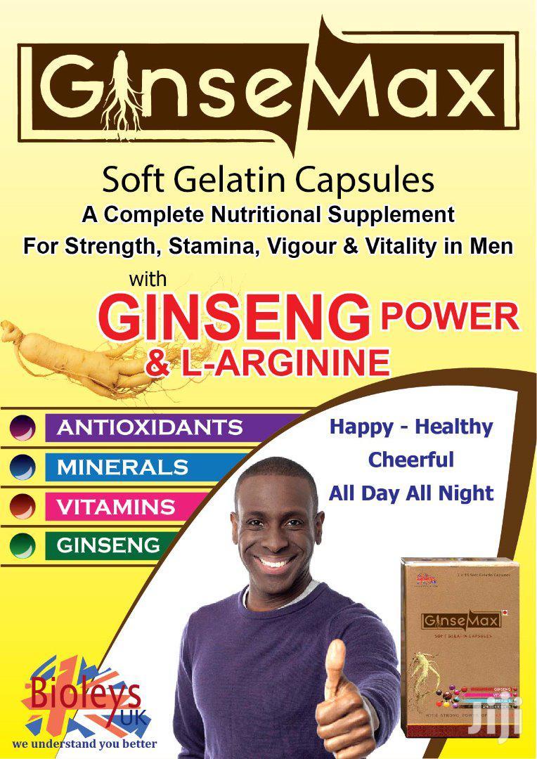Ginsemax (Soft Gelatin Capsules)