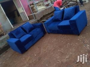 Blue Sofa A Four Seats 2,2   Furniture for sale in Central Region, Kampala