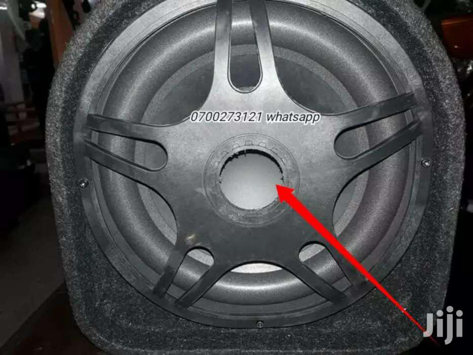 Powerful Woofer For Cars
